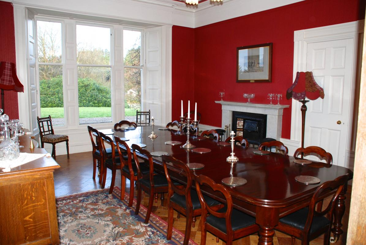 Balinakill country house your perfect wedding reception for Victorian dining room